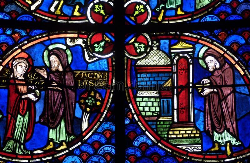La France, cathédrale de Bourges photographie stock libre de droits