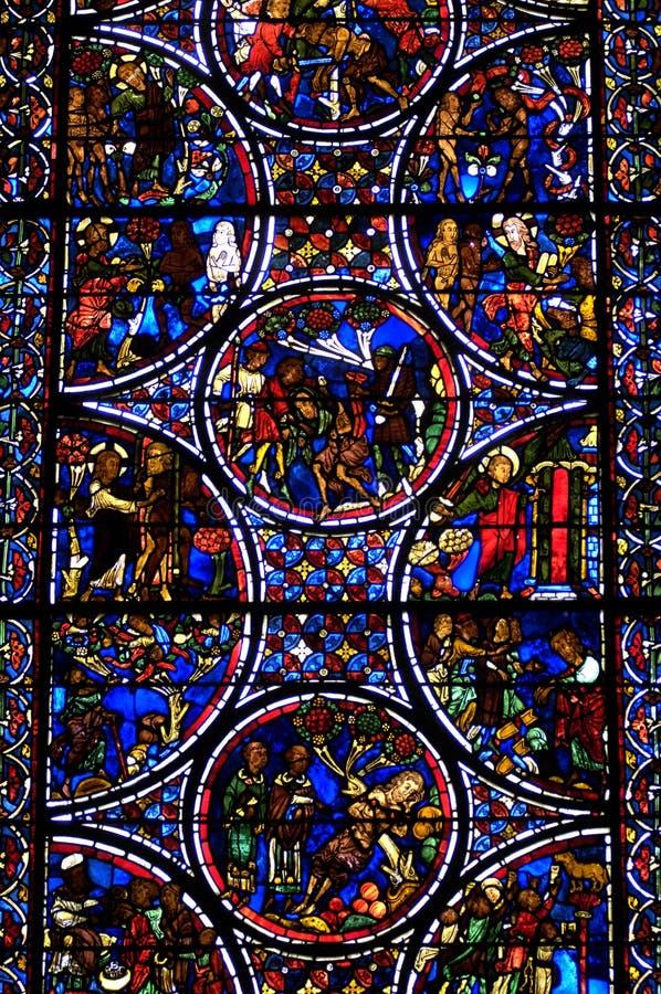 La France, cathédrale de Bourges photo stock