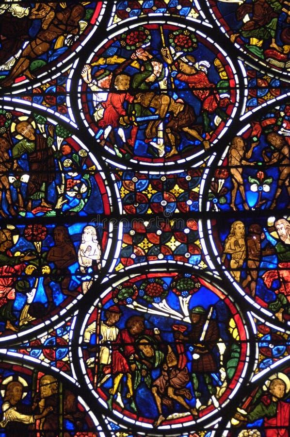 La France, cathédrale de Bourges images libres de droits