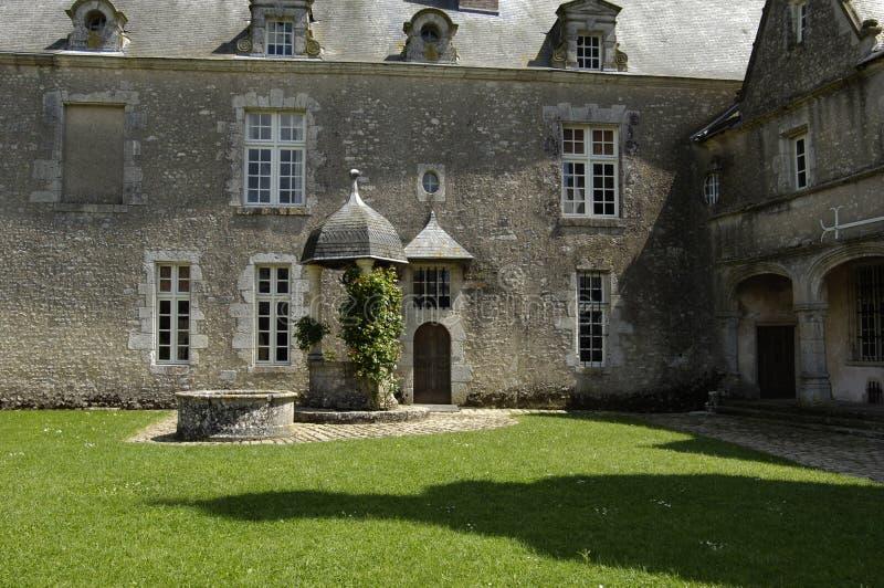 La France, château de Talcy photo libre de droits