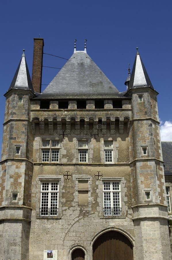 La France, château de Talcy photographie stock