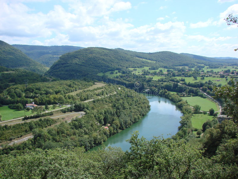 La France Jura image stock
