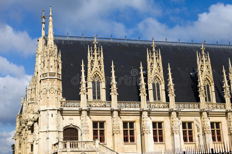 La France. Normandie. Rouen images libres de droits