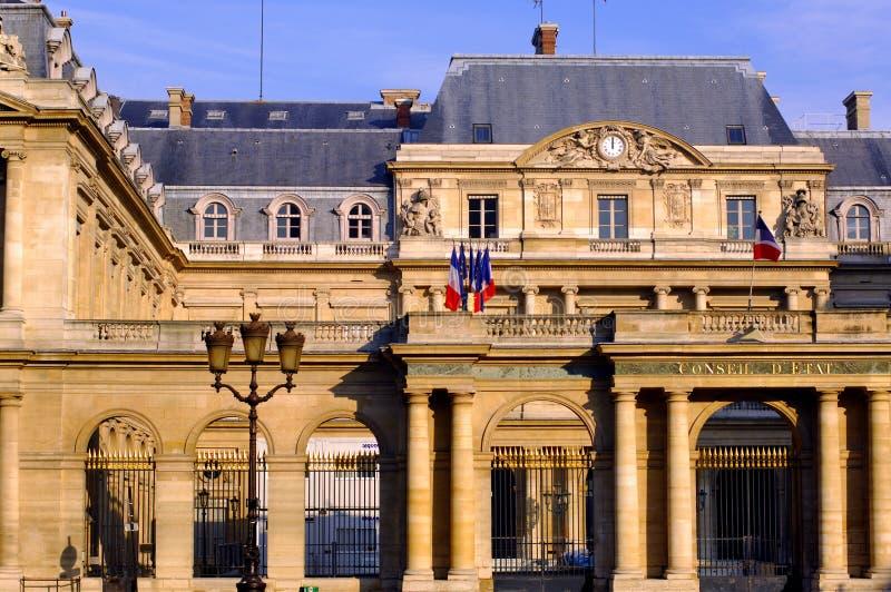 La France, Paris, palais royaux illustration de vecteur