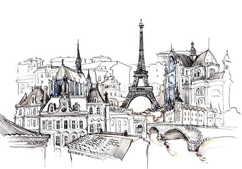 La Francia illustrazione vettoriale