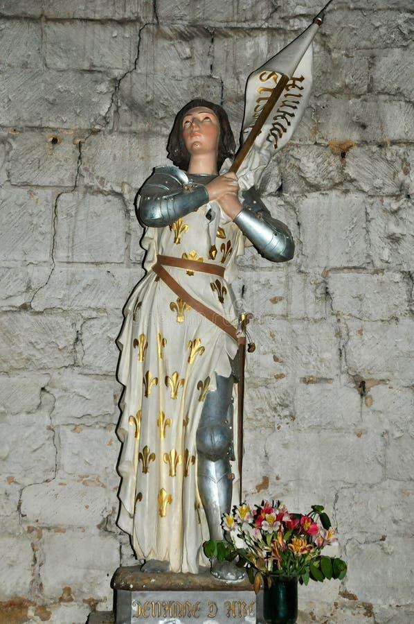 La Francia, abbazia di Cadouin nella Dordogna immagine stock