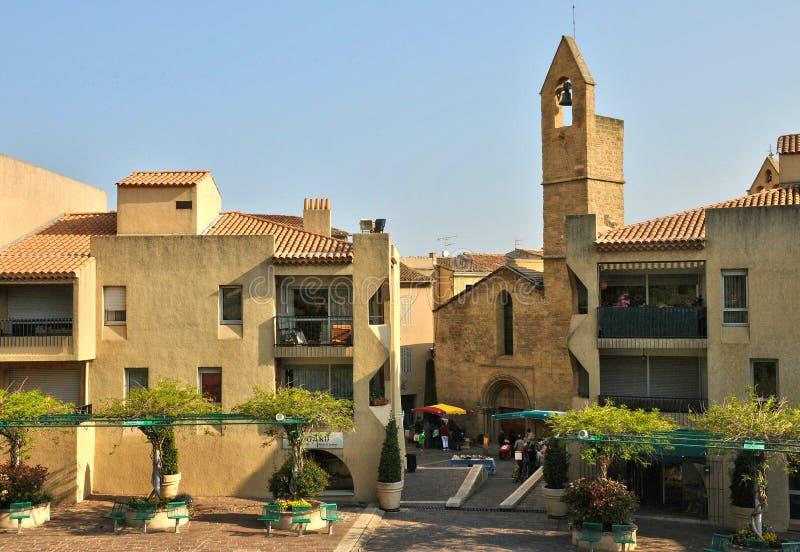 La Francia, Bouche du Rhone, città di Salon de Provence fotografia stock libera da diritti