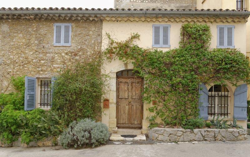 Casa di città francese fotografie stock