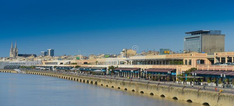 La Francia, Gironda, Bordeaux, area ha elencato come patrimonio mondiale da UNES fotografia stock