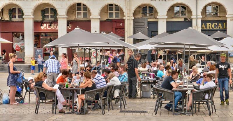 La Francia, la città pittoresca dell'en Laye di St Germain fotografie stock libere da diritti
