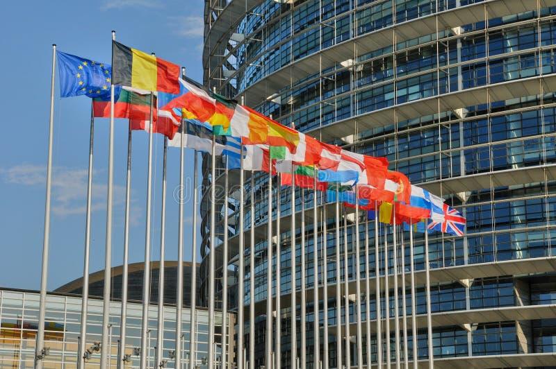 Download La Francia, Parlamento Europeo Di Strasburgo Fotografia Stock - Immagine: 38428464