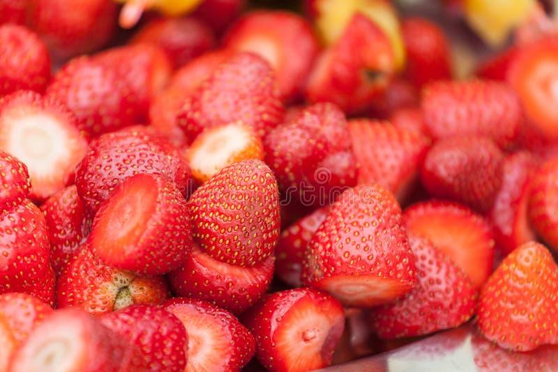 La fresa fresca lista para come fotografía de archivo libre de regalías