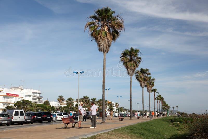 La Frontera, España de Conil de fotografía de archivo libre de regalías