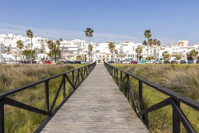 La Frontera, Espagne de Conil De photo stock