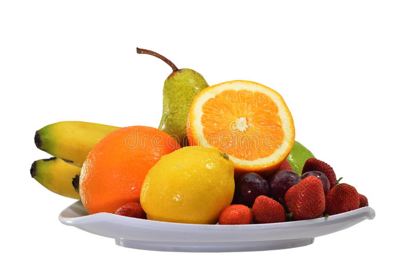 La frutta & le verdure hanno isolato 06 immagine stock libera da diritti