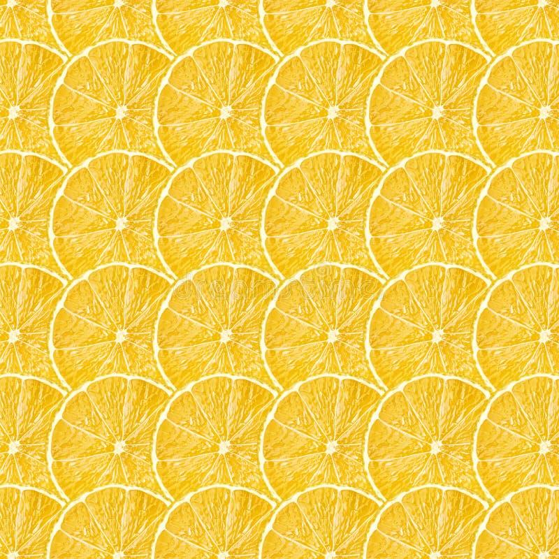 La frutta gialla del limone affetta la struttura immagini stock