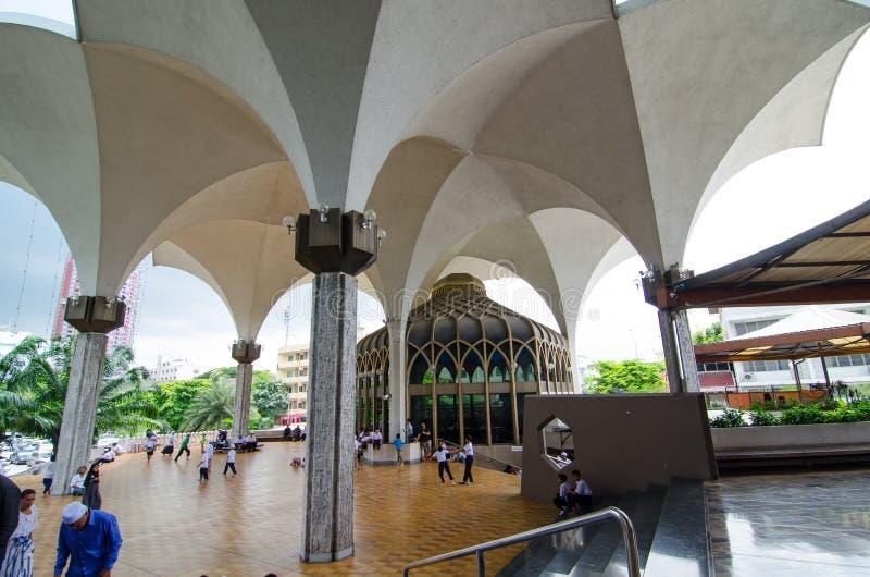 La fundación de la mezquita central y del centro islámico de Tailandia imágenes de archivo libres de regalías