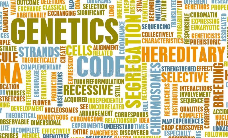 La génétique illustration libre de droits