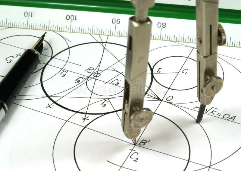 La géométrie image stock