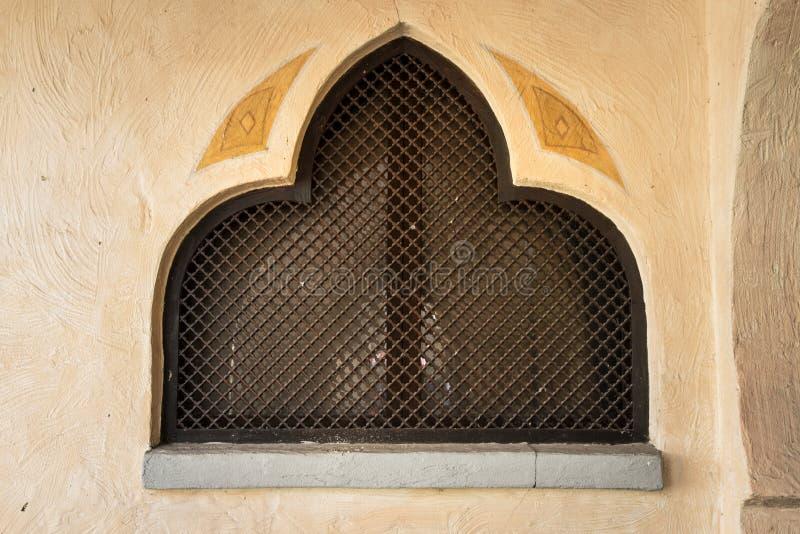 La géométrie typique de l'architecture arabe images stock