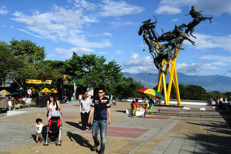 La Gaitana - Neiva. Colombia fotos de archivo