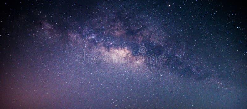 La galaxia de la manera lechosa imagen de archivo libre de regalías
