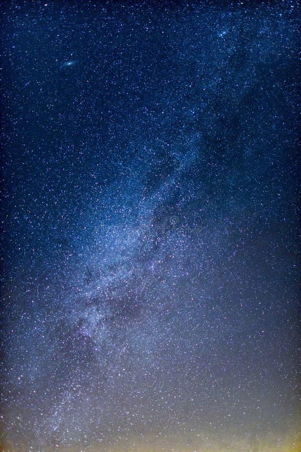 La galaxie de voie laiteuse photos stock