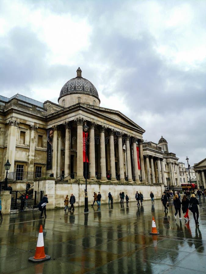 La galería nacional, el arte y las pinturas de Gran Bretaña fotos de archivo