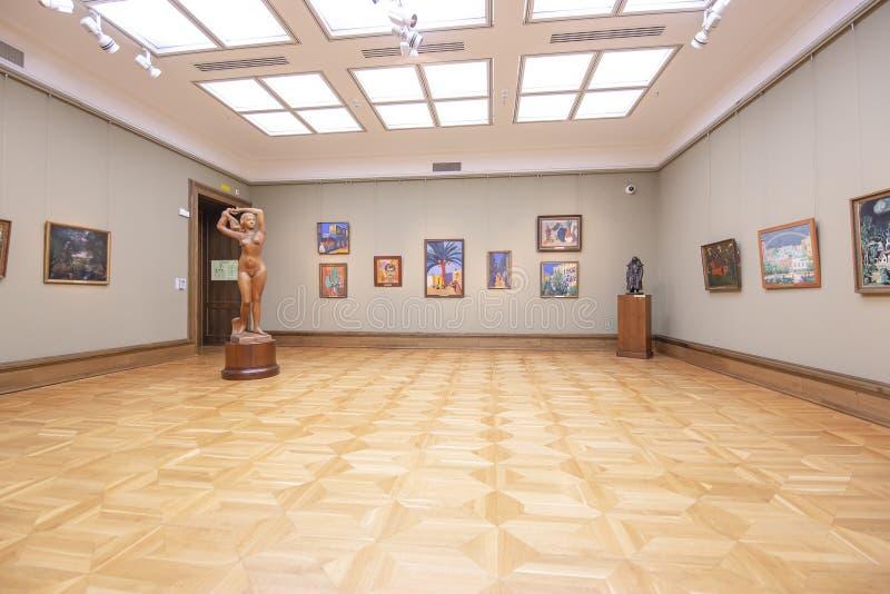 La galerie de Tretyakov d'état-- est une galerie d'art à Moscou, Russie image libre de droits