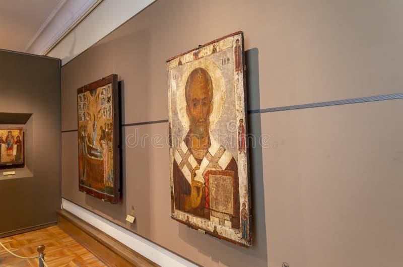 La galerie de Tretyakov d'état-- est une galerie d'art à Moscou, Russie images libres de droits