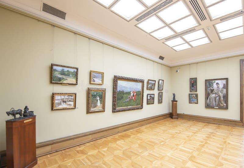 La galerie de Tretyakov d'état-- est une galerie d'art à Moscou, Russie image stock