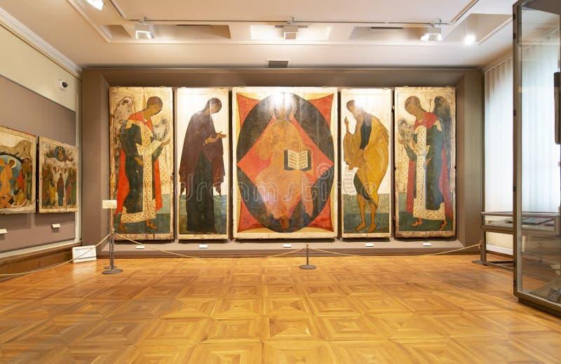 La galerie de Tretyakov d'état-- est une galerie d'art à Moscou, Russie photos libres de droits