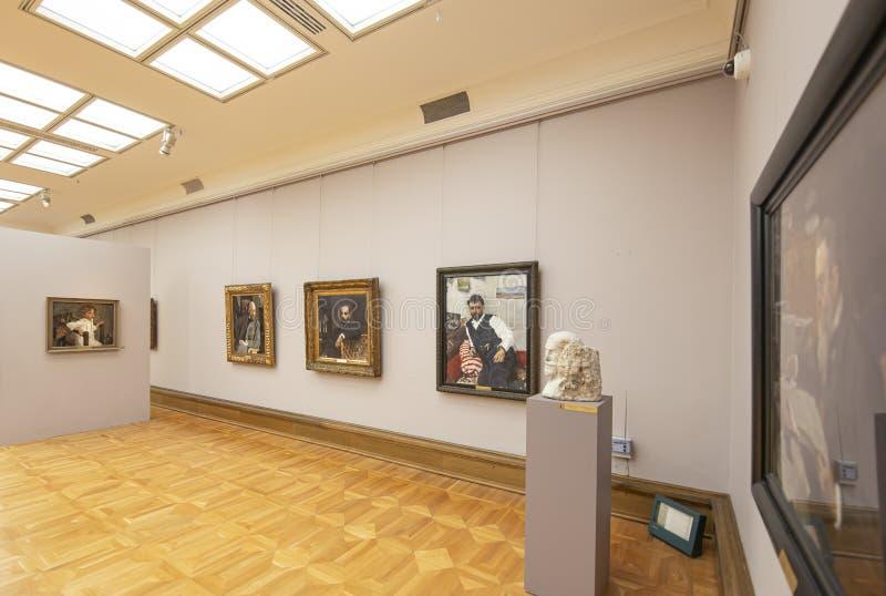 La galerie de Tretyakov d'état-- est une galerie d'art à Moscou, Russie images stock