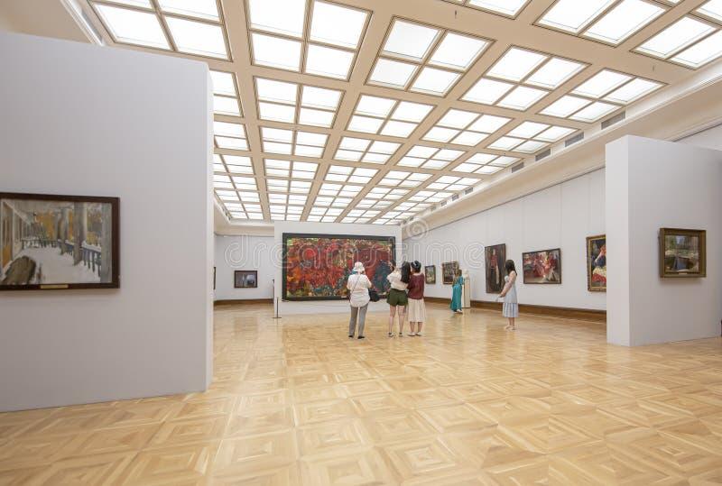 La galerie de Tretyakov d'état-- est une galerie d'art à Moscou, Russie photos stock