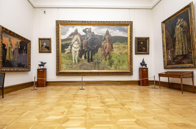 La galerie de Tretyakov d'état-- est une galerie d'art à Moscou, Russie photo stock