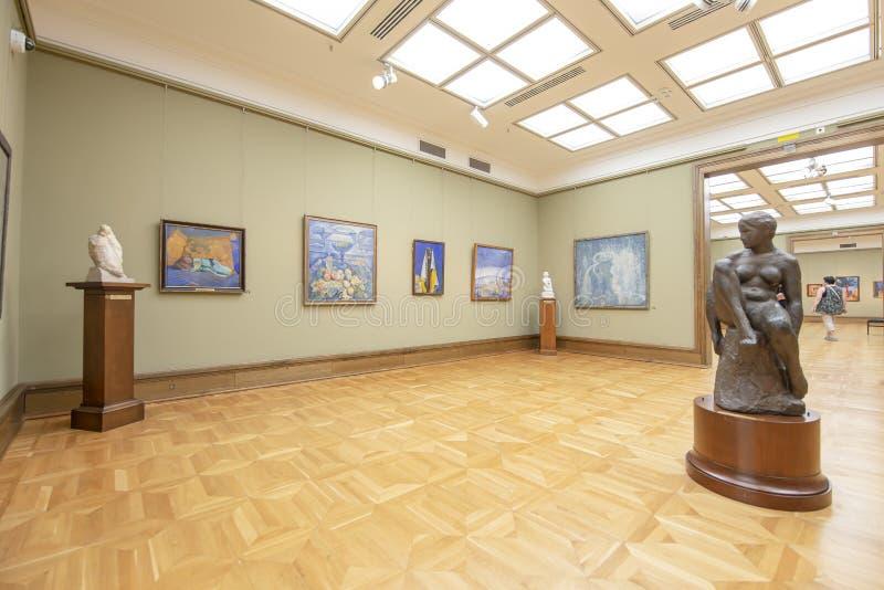 La galerie de Tretyakov d'état-- est une galerie d'art à Moscou, Russie photo libre de droits