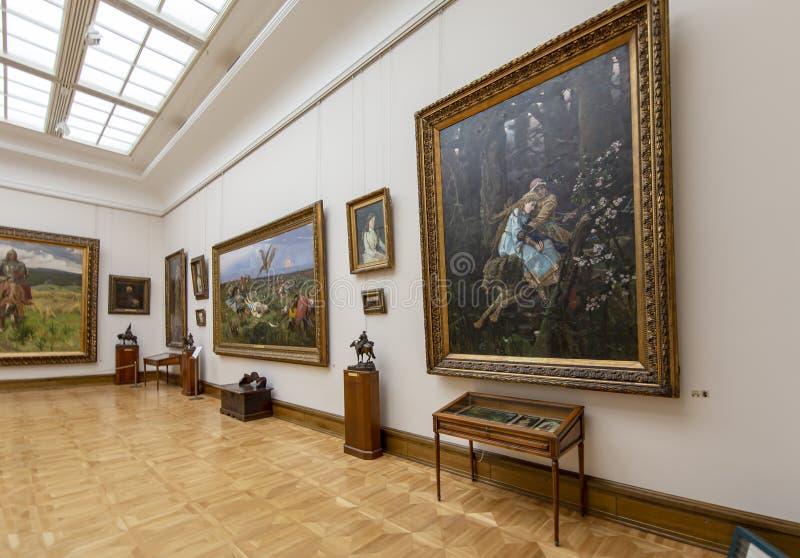 La galerie de Tretyakov d'état-- est une galerie d'art à Moscou, Russie photographie stock libre de droits
