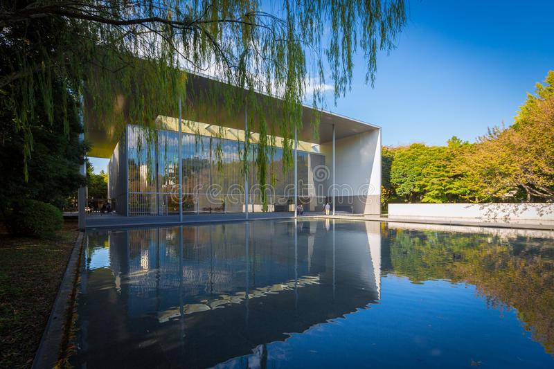 La galerie des trésors de Horyuji image libre de droits