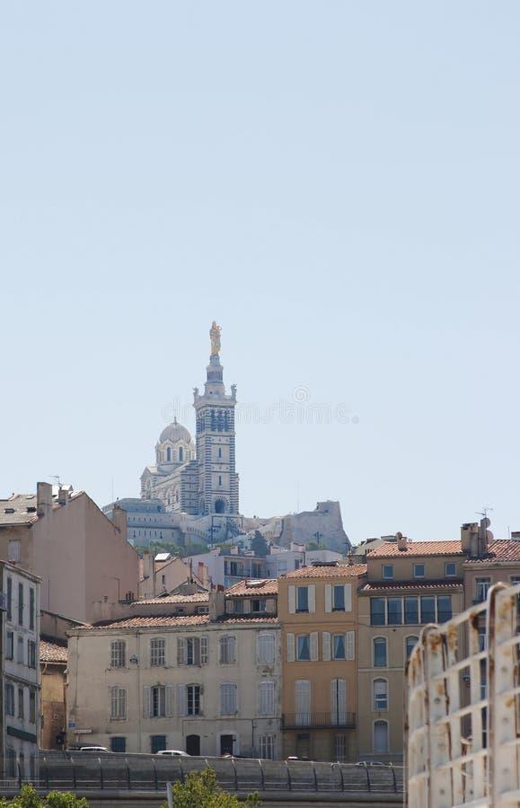 La Garde Basilique de Нотре Даме de, Марсел стоковые фото