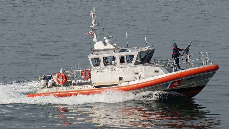 La garde côtière des USA - New York City photo stock