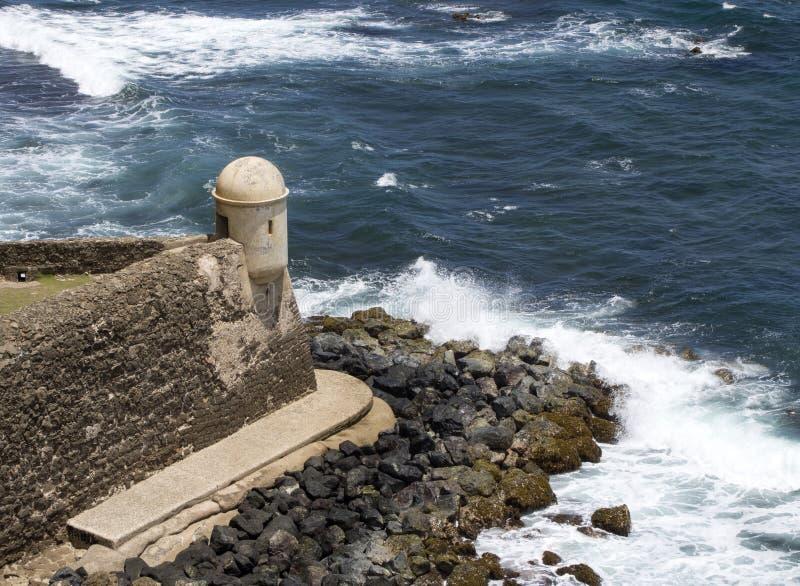 La Garita del Diablo - San Juan, Puerto Rico royalty-vrije stock foto's