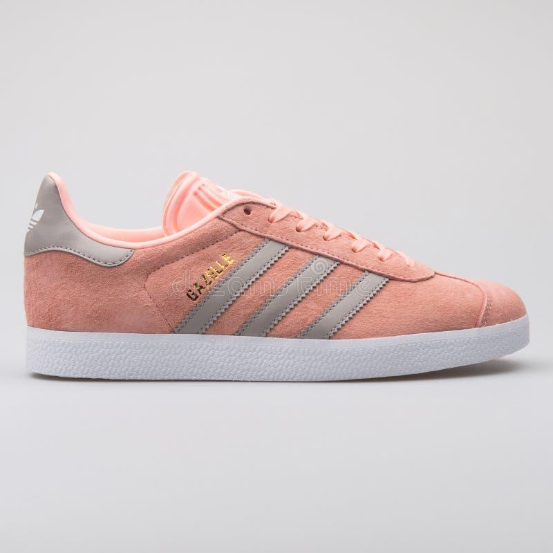 La gazzella di Adidas è aumentato scarpa da tennis fotografia stock libera da diritti