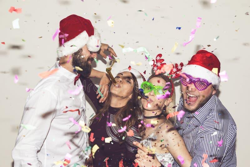 La gente che balla al partito fotografie stock