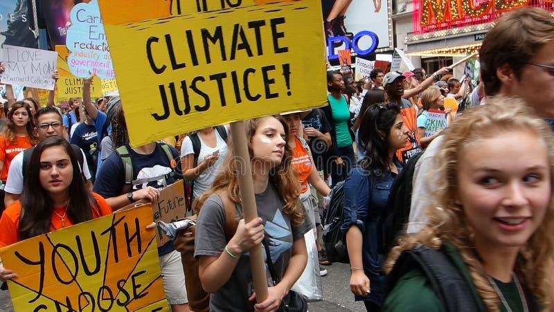 La gente clima marzo 32 fotografia stock libera da diritti