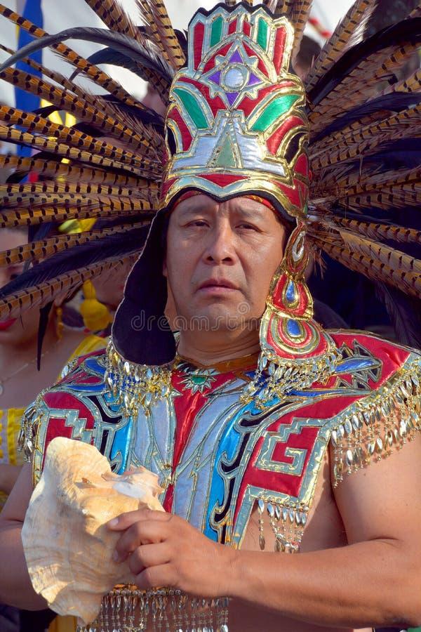 La gente dalla tribù di maya fotografie stock libere da diritti