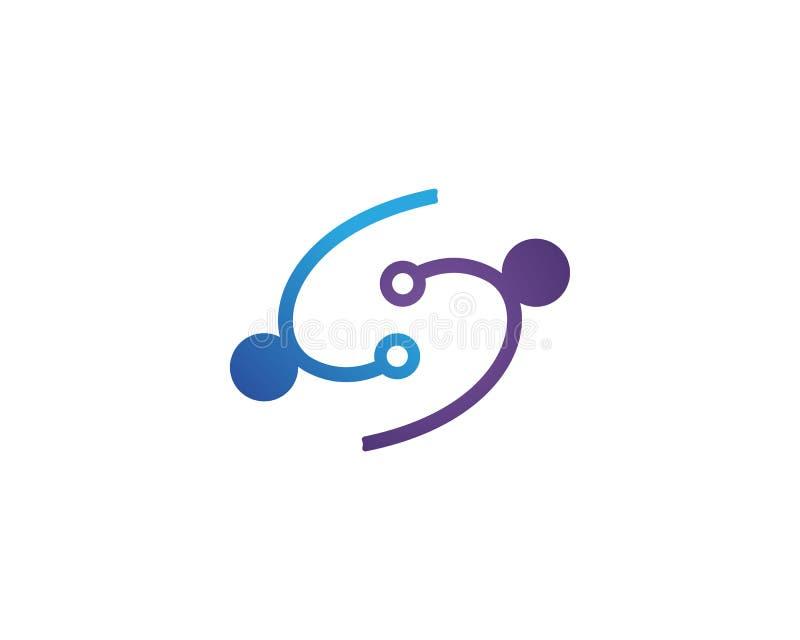 La gente de la comunidad de S cuida la plantilla de los símbolos del logotipo ilustración del vector
