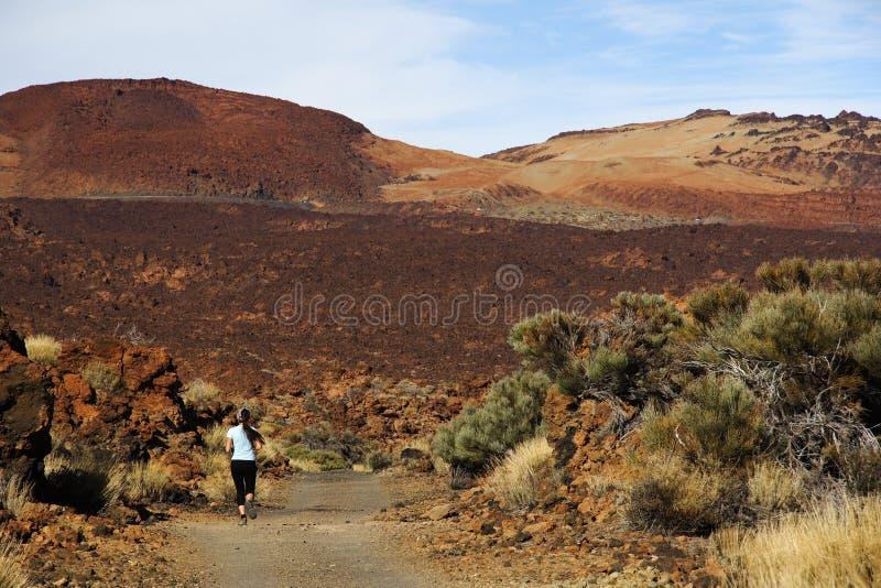 La gente del active di Tenerife immagini stock libere da diritti