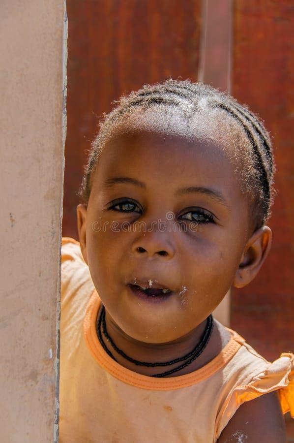 La gente del mondo - bambino africano fotografia stock