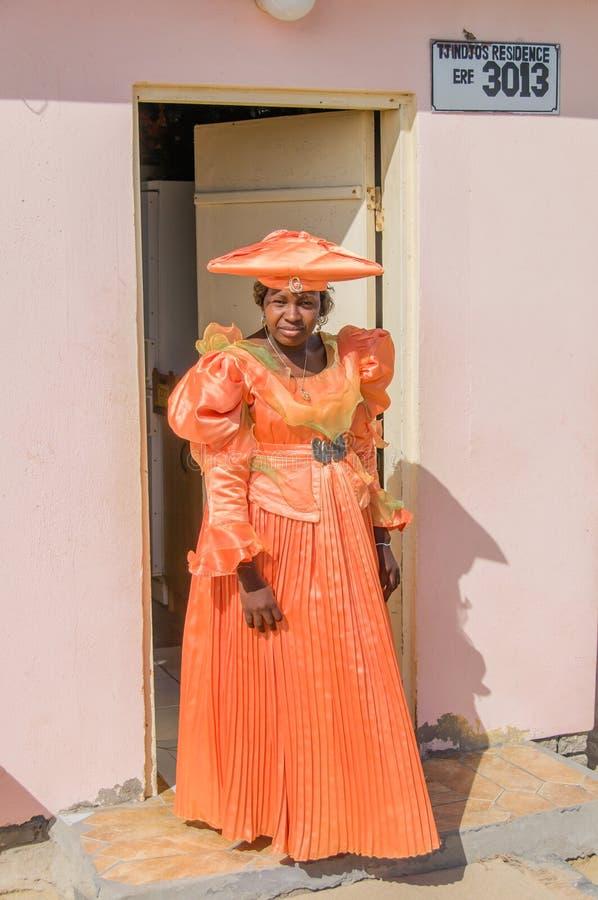 La gente del mondo - donna africana fotografie stock