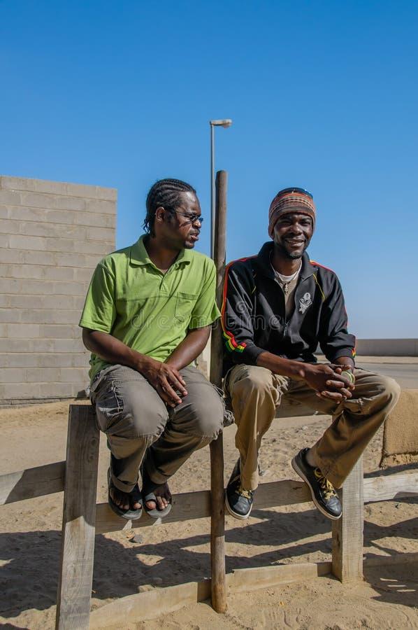La gente del mondo - uomini africani fotografie stock libere da diritti